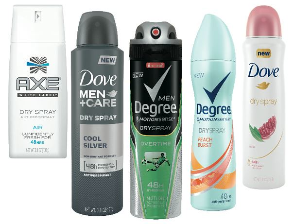 photograph about Unilever Printable Coupons referred to as Higher Well worth $2/1 Unilever Spray Deodorant Printable Coupon codes