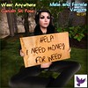 [ free bird ] Need Money for Weed Sign