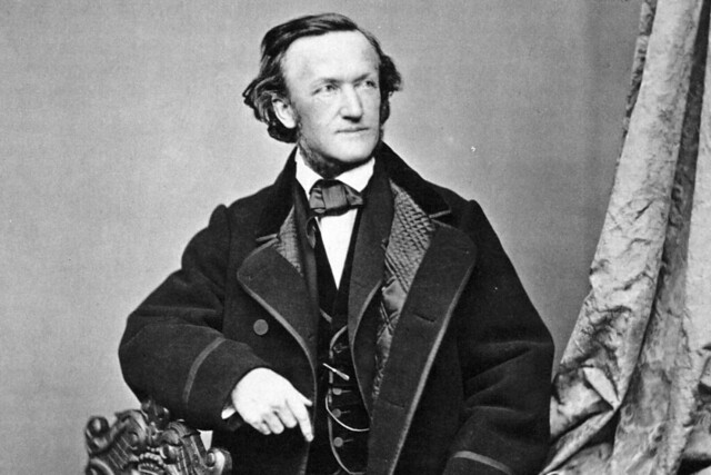 Richard Wagner, photograph by Franz Hanfstaengl (1804–77)