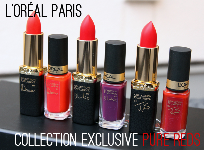 Loreal paris collection exclusive pure reds
