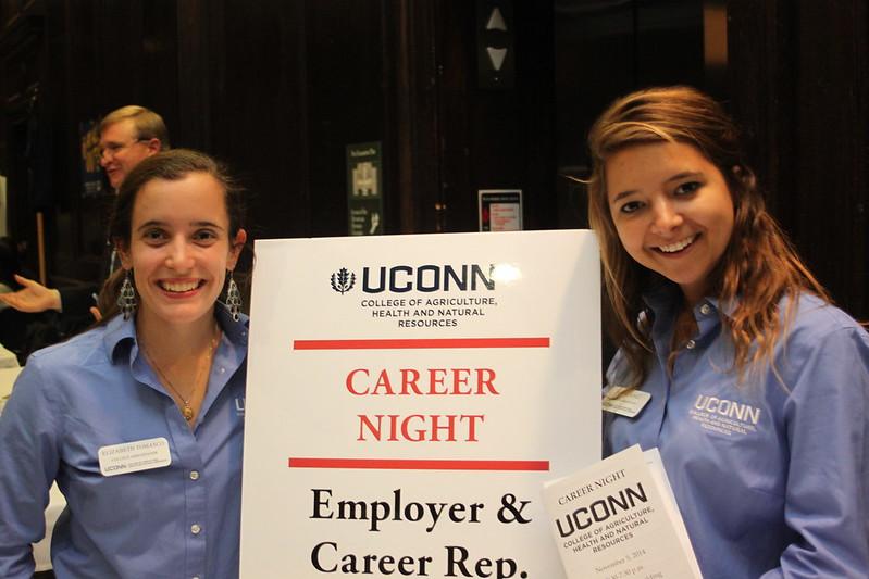 CAHNR Career Night 2014