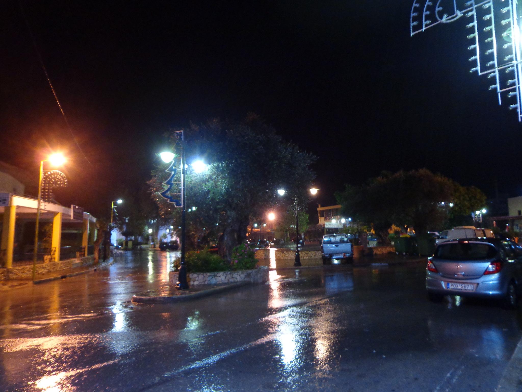 Νυχτερινή καταιγίδα, Ψίνθος