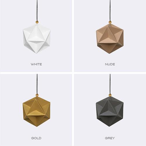 DIY Geometric Ornament Kit from Chronus Rhea