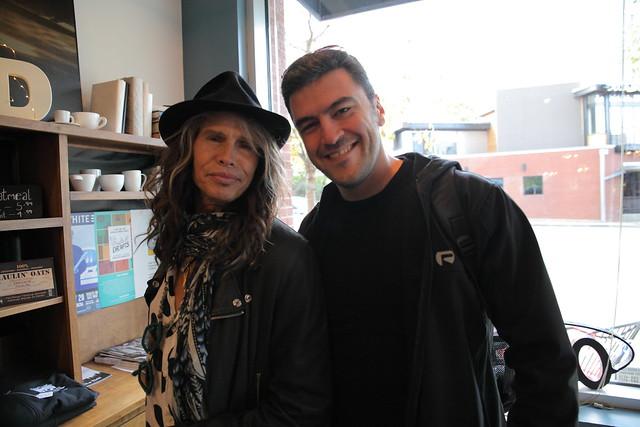 Steven Tyler (of Aerosmith) & Me in Nasville