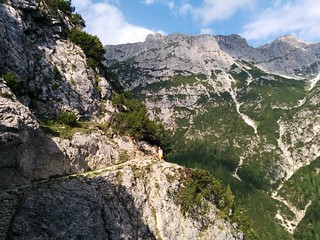 Aufstieg Strudelkopf Pragser Dolomiten