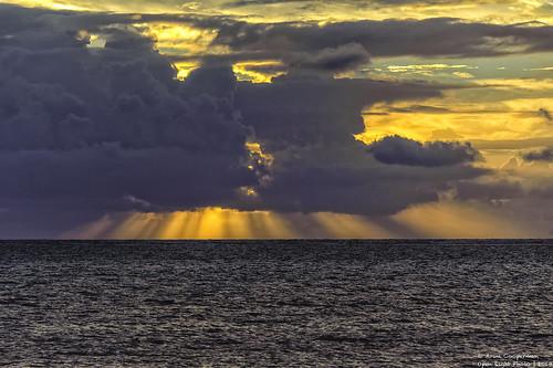 seascape latinamerica water clouds sunrise landscape nikon belize ambergriscaye sanpedro centralamerica lightrays d800 caribbeansea nikond800 cloudsstormssunsetssunrises aroncooperman openlightphoto december2014