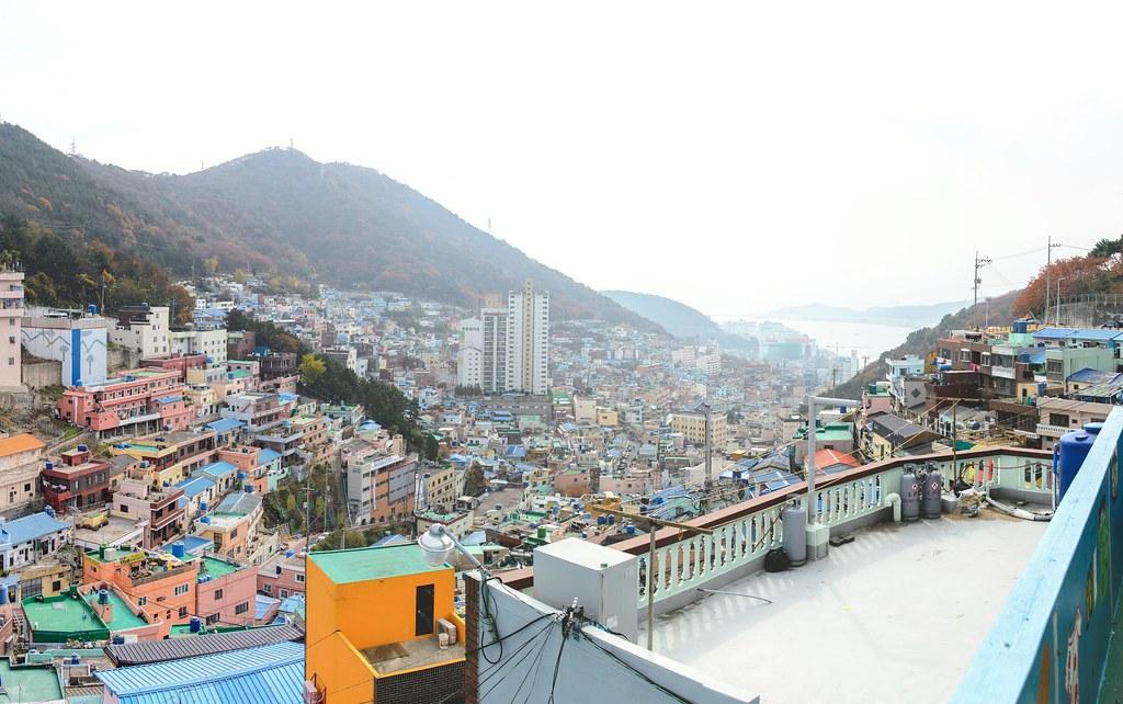 Gamcheon art village view