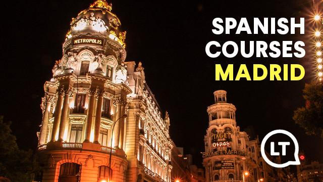 Spanish school in Madrid Spain