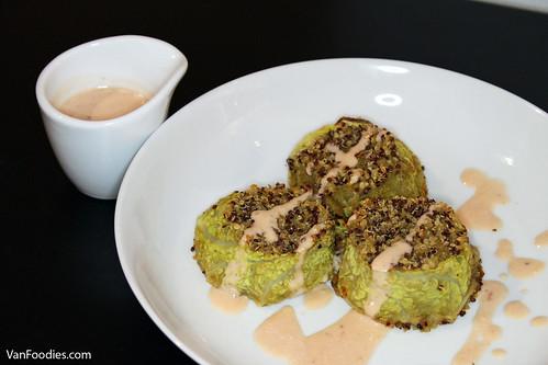 Quinoa Crusted Falafel Mignon