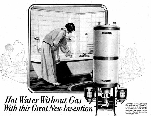 Perfection Kerosene Water Heaters