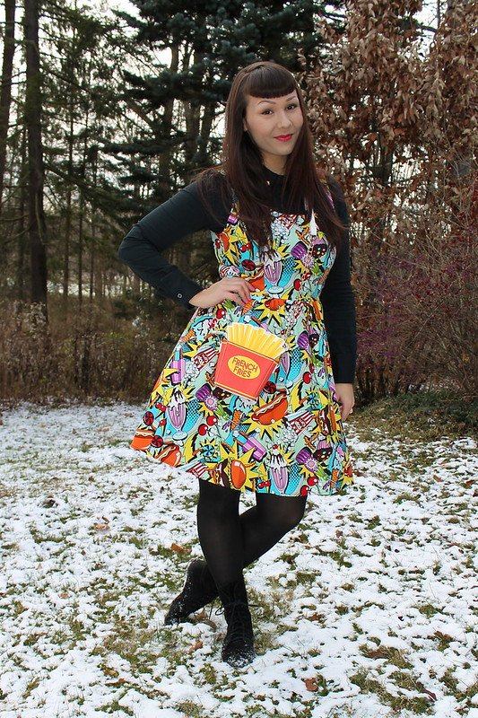 modcloth good enough to eat dress