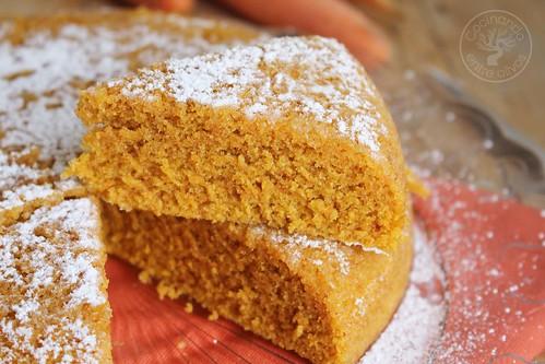 Bizcocho de zanahoria en microondas www.cocinandoentreolivos.com (17)