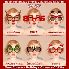 Pure Poison - Holidays Glasses Gacha Key