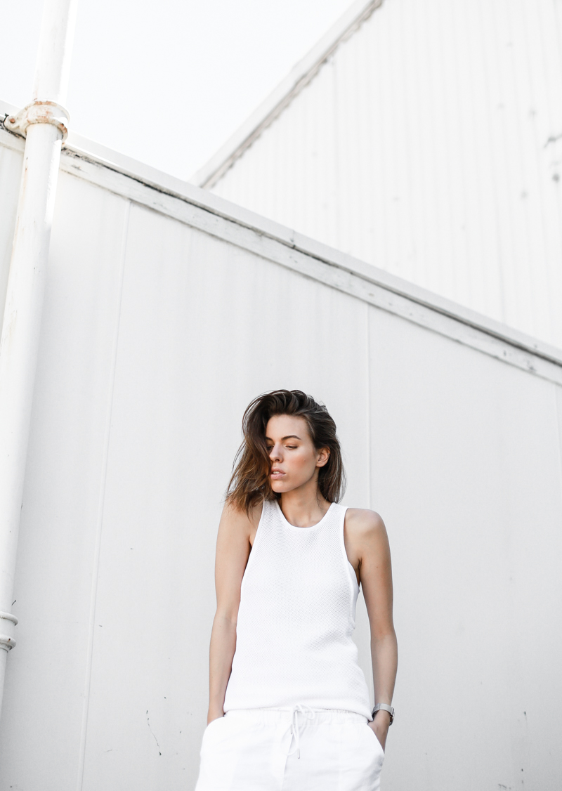 MODERN LEGACY fashion blog all white street style knit tank (1 of 1)