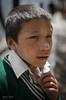Portrait of a child - Namche  - Nepal