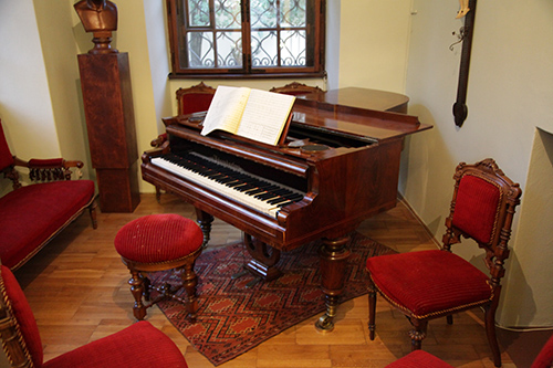 Dvorak's piano