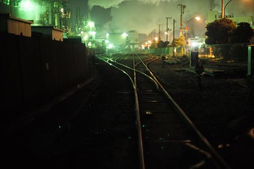 川崎工場夜景-21