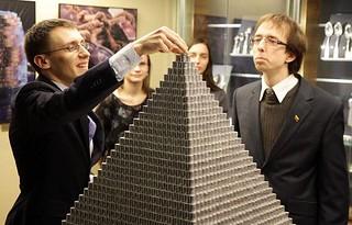 lithuania coin pyramid