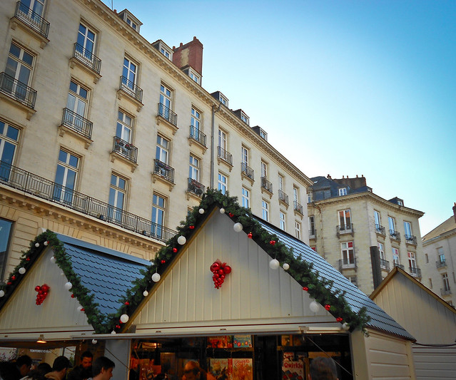 Nantes- marché de Noël