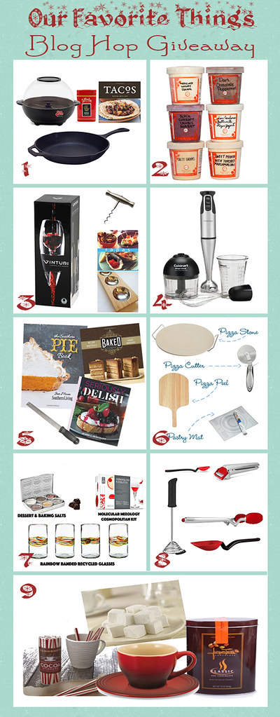 Favorite Things Giveaway via LittleFerraroKitchen.com