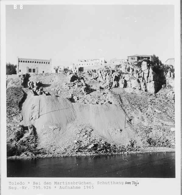 Roca Tarpeya en 1965