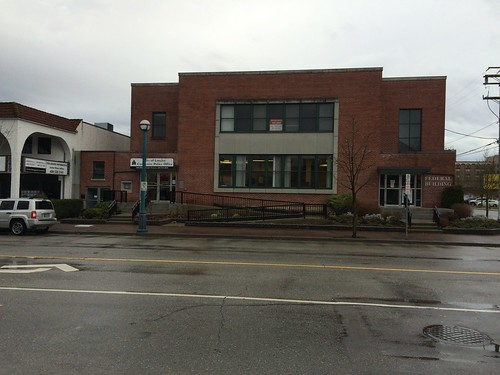 Federal Building in the City of Langley. (Former Post Office)