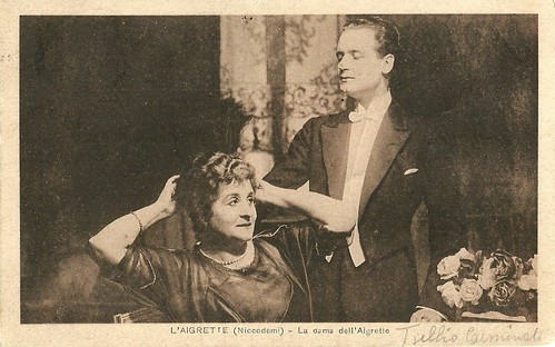 Tullio Carminati and Ida Carloni Talli in L'aigrette