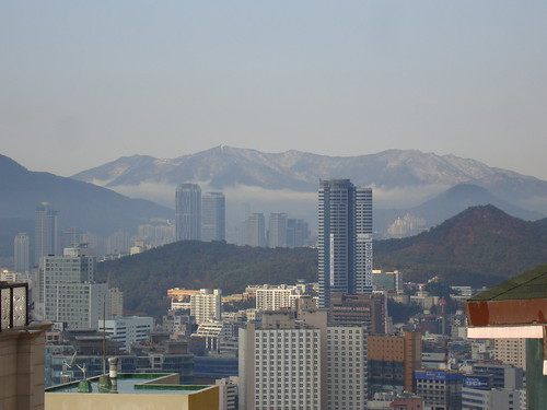 Snow in Busan