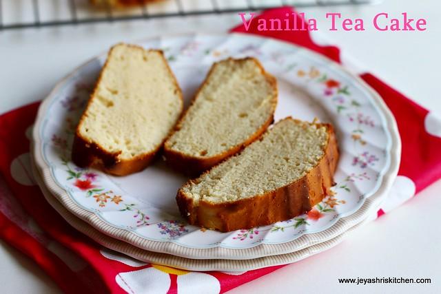 Vanilla - tea cake