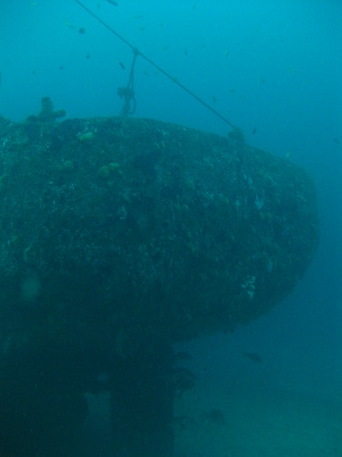 Wreck of the Alma Jane, Sabang, Puerto Galera