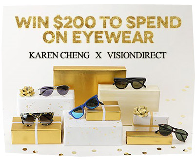 Vision Direct X Karen Cheng
