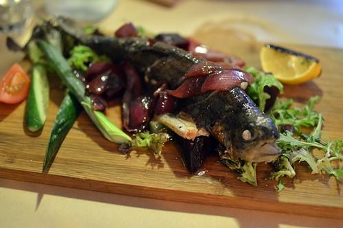 Georgian-style fish