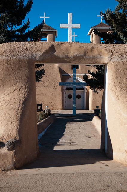 Rancho de Taos church