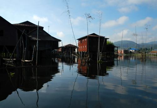 Boat Trip Down Inle Lake, Myanmar