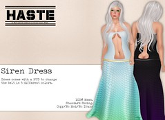 [Haste] Siren Dress @ The Fantasy Collective