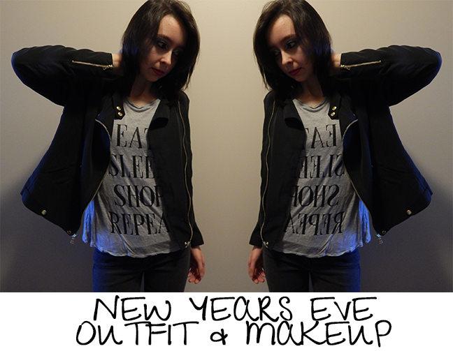 New Years Eve Outfit & Make Up