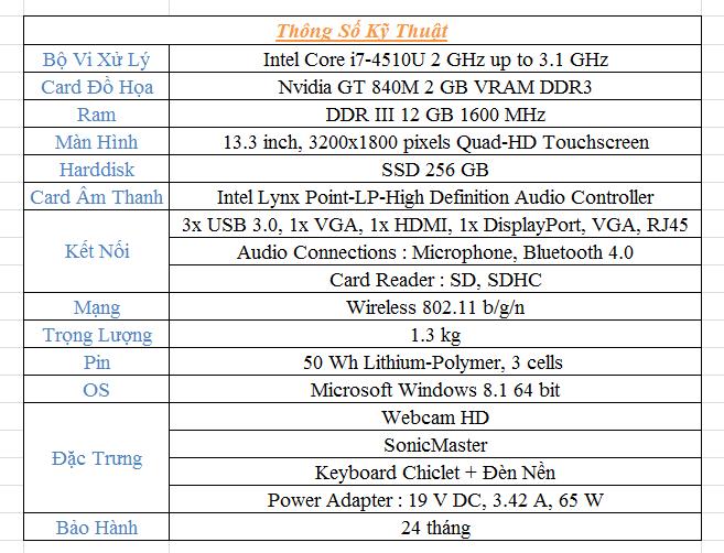 Asus UX303LN - Chiếc Zenbook nhỏ gọn di động - 61491