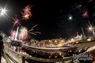 Silvesterfeuerwerk Villach 2015