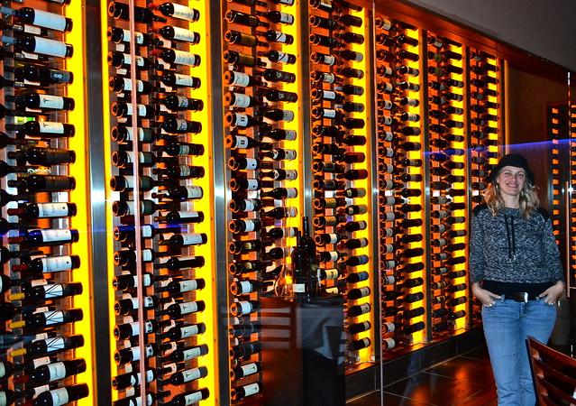 Ocean Prime Atlanta - wine cellar