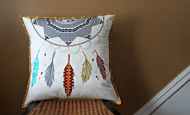 A Dreamcatcher Pillow