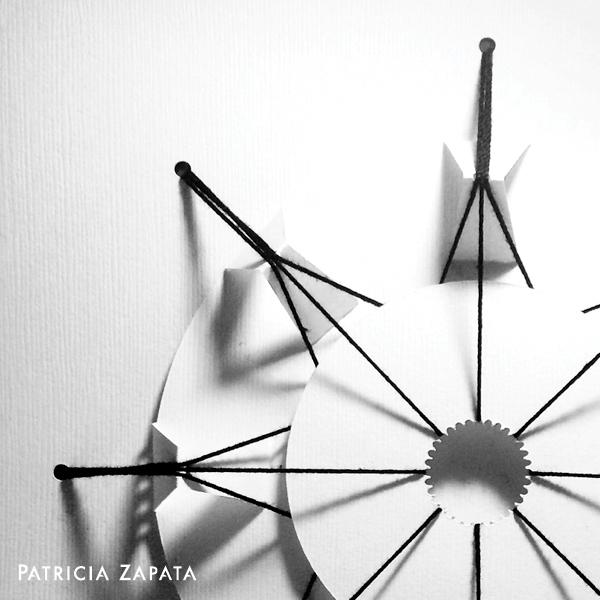 3D embroidery - Patricia Zapata