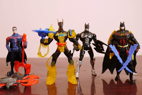 Old Batman toys