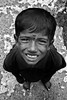 Closeup of a young Indian boy