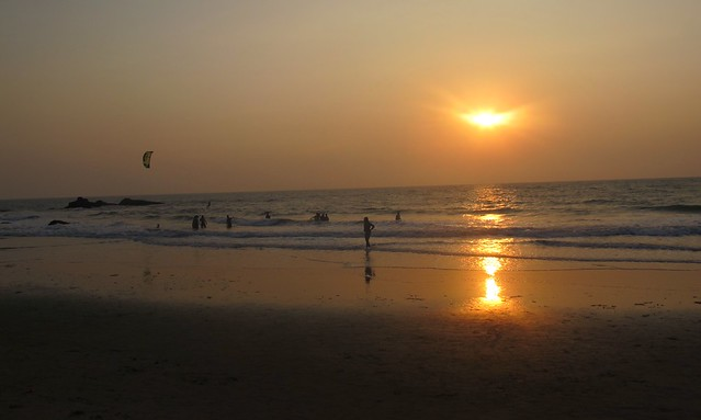 India - Arambol sunset