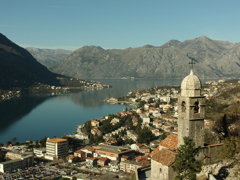 Small church above Kotor