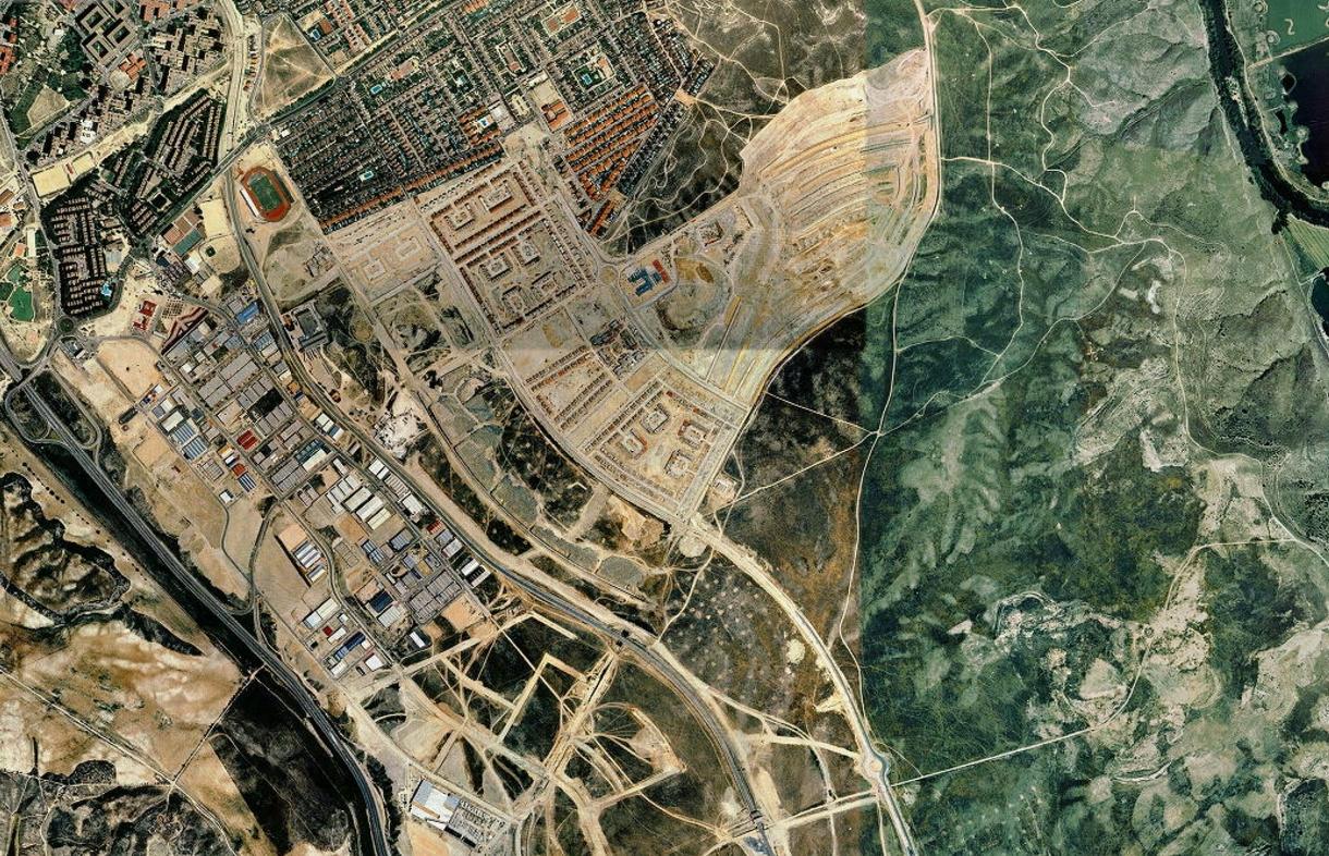 rivas-vaciamadrid, madrid, to lo yeso, antes, urbanismo, planeamiento, urbano, desastre, urbanístico, construcción