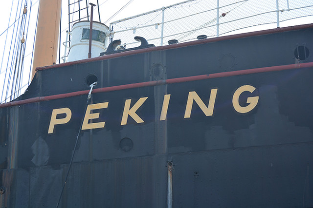Peking name starboard