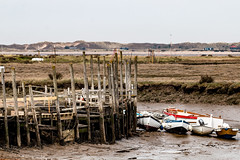 The quay at Morston North Norfolk