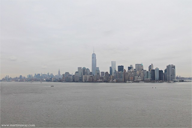 Manhattan from Liberty Island