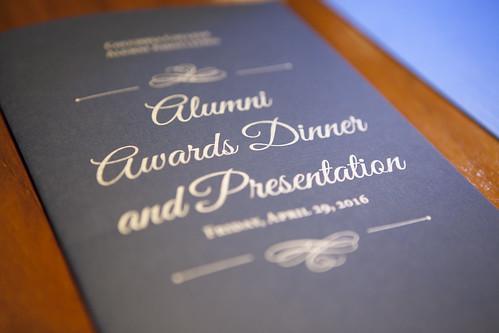 Alumni Awards Banquet 2016